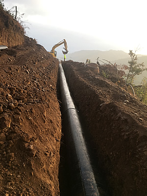 North Green Point Pipe after photo