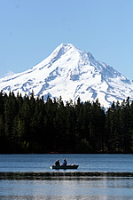mT Hood over Kingsley Reservoir
